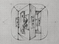 ios door +video