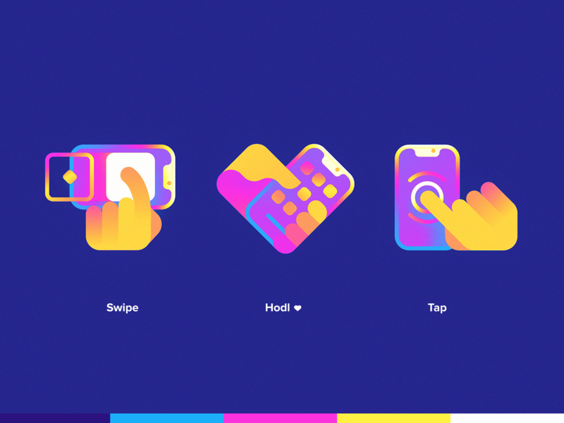 Sweet 🍭 icon design mark website identity branding logo illustration