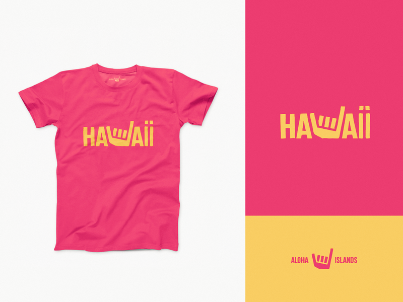 Hawaii 🤙 hawaii shirt design drawing identity branding illustration logo icon