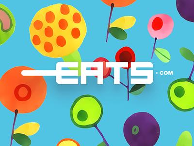 Fresh Eats design drawing sketch app identity branding illustration logo icon