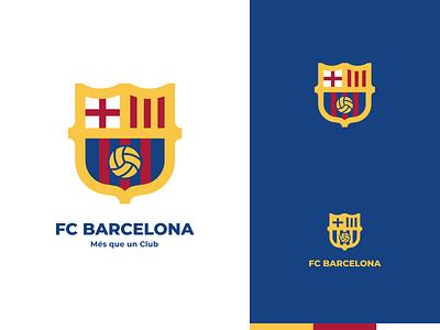 FCB - Logo club logo barca barcelona messi identity theft football club soccer football badge icon