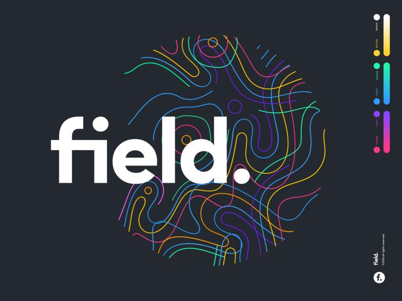 field. type mark sketch website app identity branding illustration logo icon