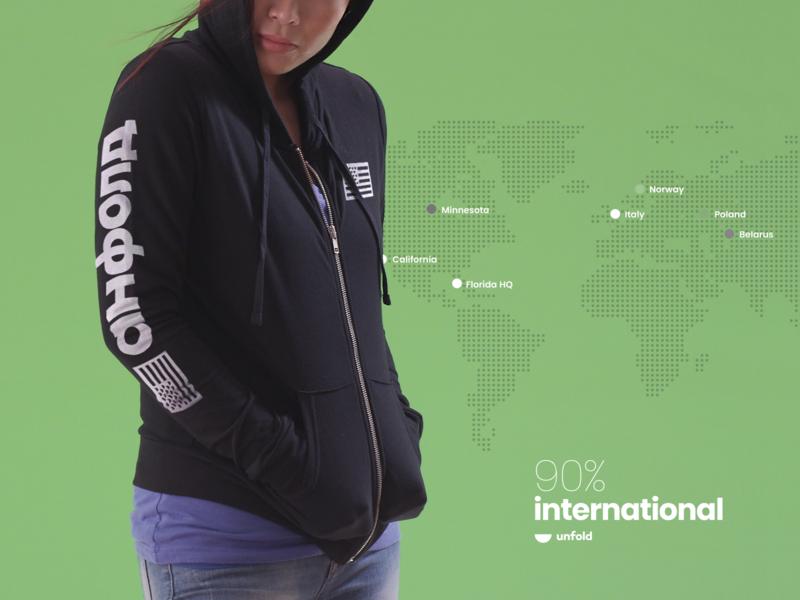 🍉Hoodie world identity branding unfold hoodie sweater swag