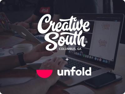 CreativeSouth web  design web fam mike south conference creative workshop website