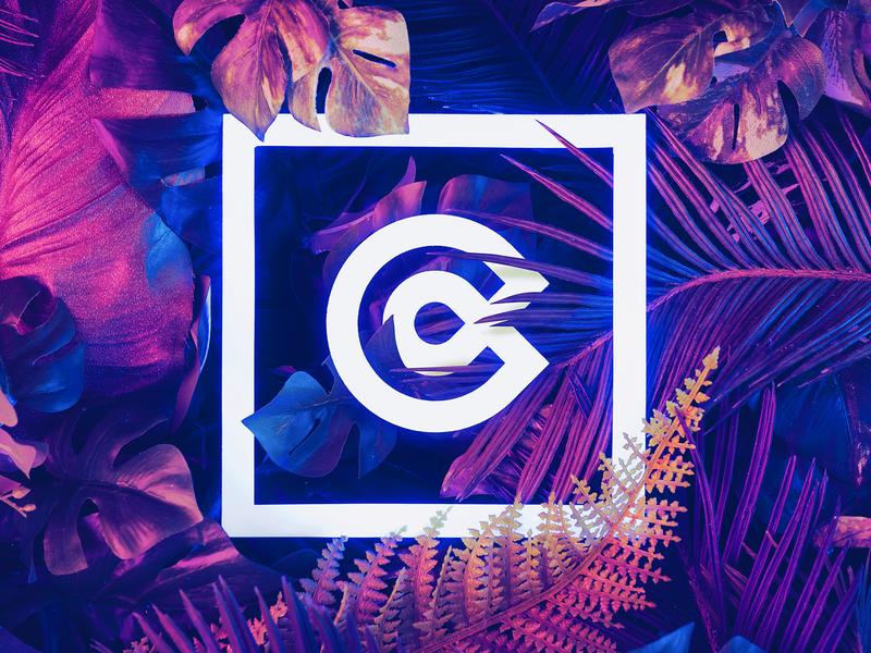 C landing design ios mark iphone website app identity branding illustration logo icon