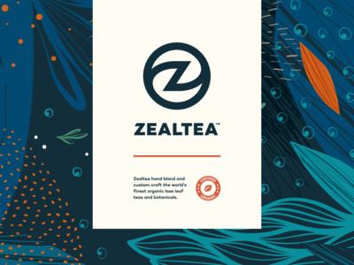 ZealTea - Branding