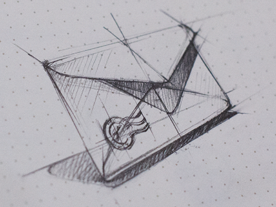 mailcheck app icon appstore apple mac osx ios mail check envelope email sketch pencil pen
