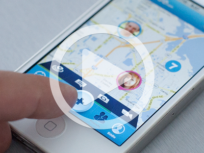 nav animation iphone ios app navigation icon map camera ui ux