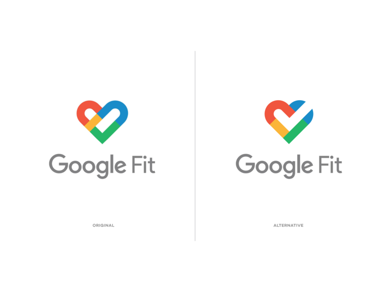 Google Fit google android app identity branding logo icon