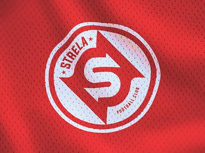 STRELA FC messi club fc football soccer mark identity icon illustration branding logo