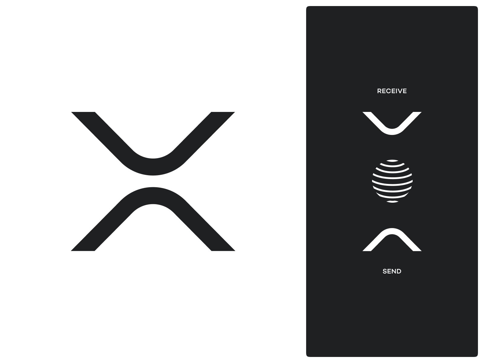 xrp symbol by eddie lobanovskiy for unfold on dribbble xrp symbol by eddie lobanovskiy for