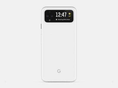 phone concept lcd pro iphone apple google pixel phone