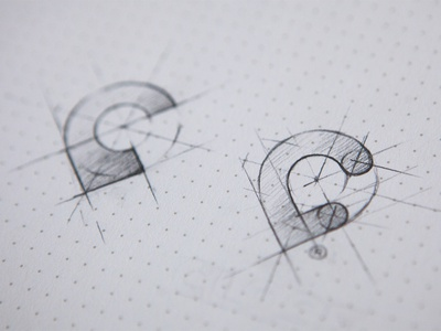 close pins icon app logo mark identity sketch pencil dotgrid
