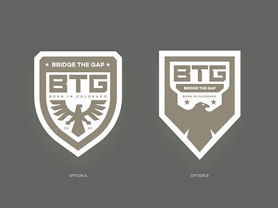 BTG Badges badge military app identity illustration branding logo icon
