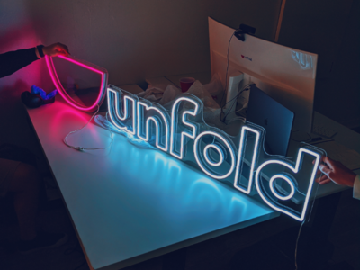 Unfold 2020! 🚀 sign agency unfold year 2020
