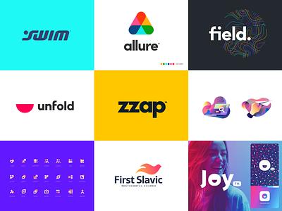 2019 Top identity illustration branding logo icon