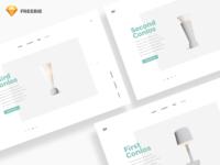 Clean Pages - Sketch FREEBIE