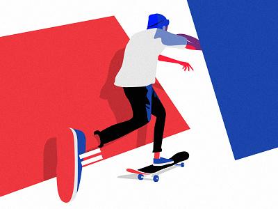 Skate n destroy illustrator vector illustration skateboarding skateboard destroy skate