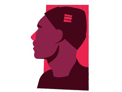 Refreshing the profile pic design portrait vector avatar