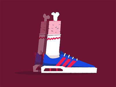 Sneakerheadless vector bones illustration sneakerhead sneakers