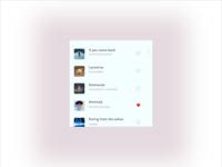 Music App - Light Mode