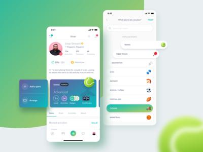 New Profile Screen Design | Rovo App
