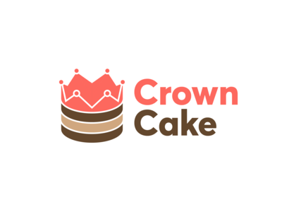 Crown Cake Logo