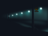 Night tunnel