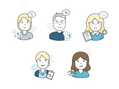 Counseling avatars
