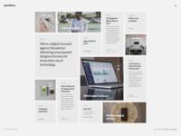 Pasadena - Contemporary Portfolio WordPress Theme