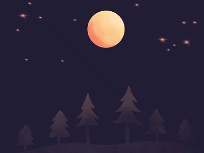 Moon Bounce ipadpro ipad procreate animation procreate frame by frame animation motion design animation moon bounce moon