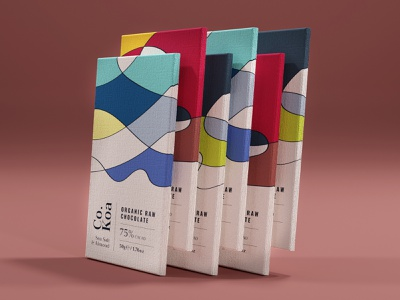 Co.Koa branding packaging design chocolate packaging