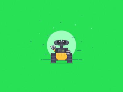Wall-E illustration
