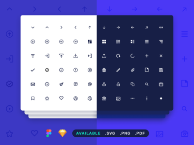 Dashboard UI Line Icons Set