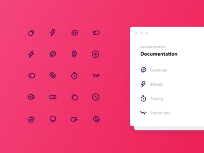 Animation and Motion Icons ui kit wireframe kit website design ui8 ui ux layer iconjar icon design download icon pack icon design iconography icon set icons design system dashboad creative market clean app design app