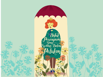 payung teduh payungteduh pelukan women illustration