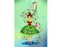 Dribbble Rain Flower