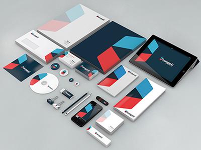 Kempeli | Rebranding visual identity red blue marca redesenho branding rebranding kempeli design kempeli corporate identity logo mark