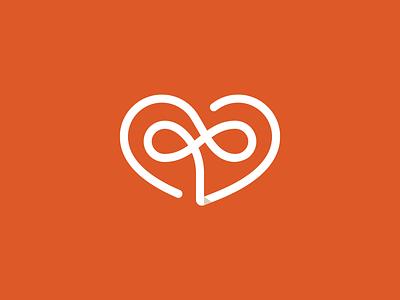 C + D + ♾️ + 🧡 / Branding orange visual identity corporate identity brand brand identity symbol mark marca logo branding