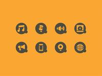 Acústica Produções / Icons