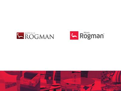 Móveis Rogman / Rebranding