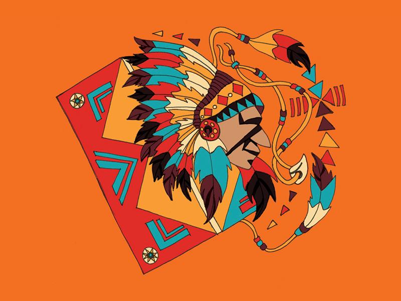 WIP / Packaging / Illustration illustration packaging craft beer beer sioux branding