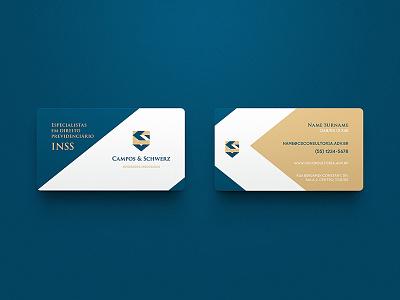 Campos & Schwerz / Branding law firm symbol campos schwerz lawyers brand identity marca mark logo branding