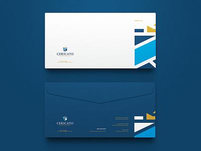 Cericato & Advogados Associados / Branding envelope branding brand brand identity logo mark marca symbol