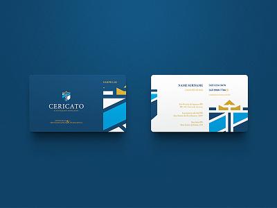Cericato & Advogados Associados / Branding business cards branding brand brand identity logo mark marca symbol