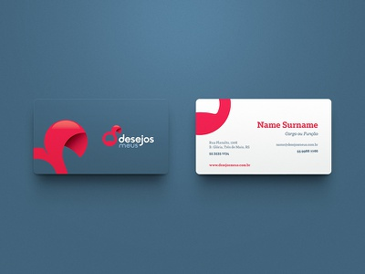 Desejos Meus  / Branding symbol marca mark logo brand identity brand branding business cards