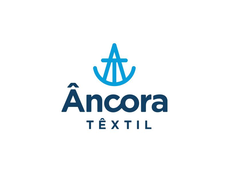 Âncora Têxtil / Branding branding brand brand identity logo mark marca symbol
