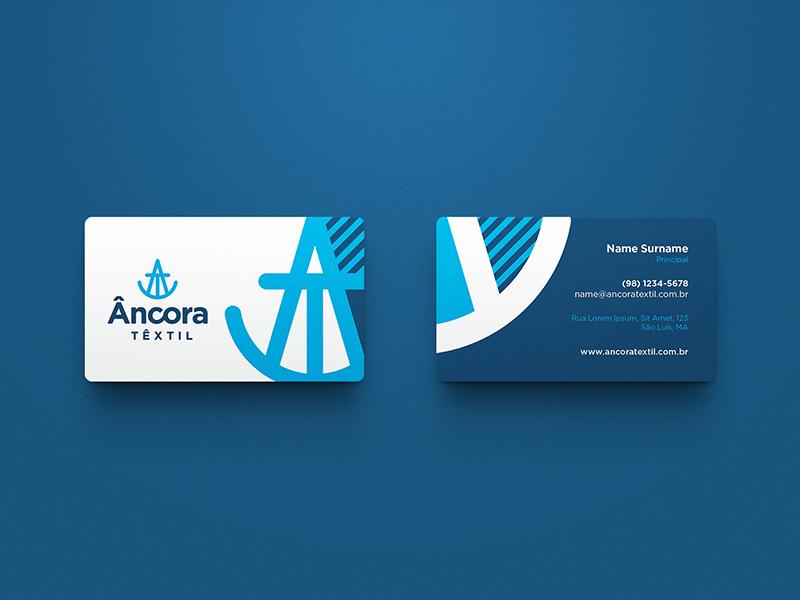 Âncora Têxtil / Branding symbol marca mark logo brand identity brand branding