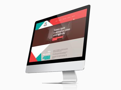 Hoje Liberações / Branding / Website