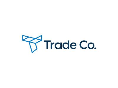 Trade Co. / Branding symbol marca mark logo brand identity brand branding